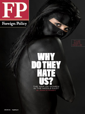 "The infamous Foreign Policy ""Sex Issue"" cover."