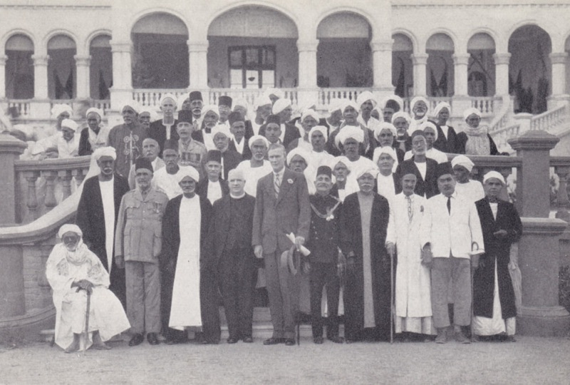 Llewellyn Henry Gwynne (1863-1957) of the Church Missionary Society of Sudan and other dignitaries at the Gordon Centenary in Khartoum, 1933.